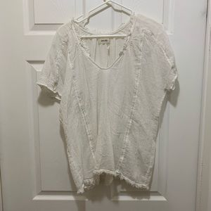 Golden by TNA 100% Cotton Crochet Shirt
